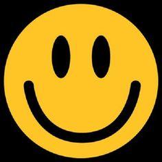 Happy Smiley Face Heat Press Transfer for T Shirt Sweatshirt Tote Fabric 710C   eBay