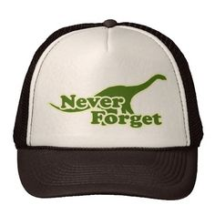Never Forget Dinosaurs Hats http://www.zazzle.com/never_forget_dinosaurs_hats-148467990180194721?rf=238675983783752015