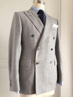 Gray Flannel Bespoke Suit