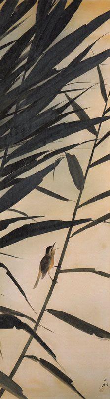 葦によしきり Isson Tanaka - ✯ http://www.pinterest.com/PinFantasy/arte-~-arte-oriental/