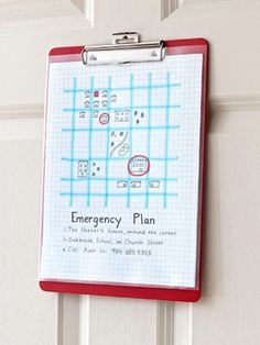 Fill out a plan with your family to have in an emergency then sit emergency plan emergency preparedness tips fandeluxe Image collections