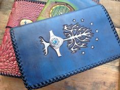 The Hobbit with The Lord of the Rings by LogCabinLeatherGifts