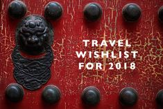 Travel Wishlist for