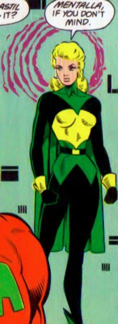 Mentalla - Pre-Crisis DC Comics - Legion of Super-Heroes