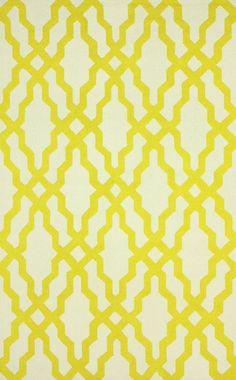 Hand-hooked of wool, this chic rug's vibrant gold trellis motif adds fresh style to your decor. Trellis Rug, Hand Hooked Rugs, Gold Rug, Rugs Usa, Contemporary Area Rugs, Gold Pattern, Wool Area Rugs, Wool Rugs, Online Home Decor Stores