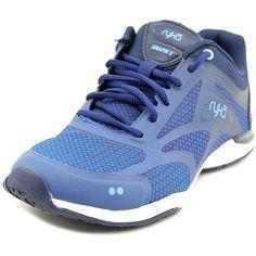 Ryka Grafik 2 Women Round Toe Synthetic Blue Running Shoe NWOB 144d748d6eb