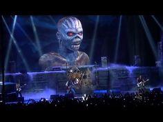 Iron Maiden - The Book of Souls Tour - Las Vegas 2-28-16 - YouTube
