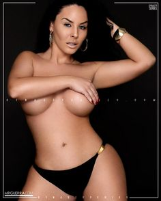 Ashley Logan Black Out - Jose Guerra Ashley Logan, Thick Hips, Bikinis, Swimwear, Hot Girls, Boobs, Curves, Sexy Women, Take That