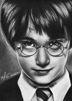 Harry Potter by Taiyo-ta on DeviantArt - Art Drawings Harry James Potter, Harry Potter Anime, Harry Potter Kunst, Harry Potter Sketch, Arte Do Harry Potter, Harry Potter Painting, Harry Potter Artwork, Harry Potter Drawings, Harry Potter Tumblr