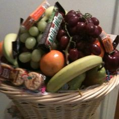 Get well basket. I need one of these. lol