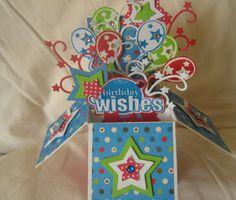 """Birthday """"Card in a box"""" by: scrapangel"""