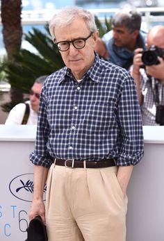 "2015 ~ 68th Cannes Film Festival ~ Woody Allen - ""Irrational Man"" ~ France -  5/15/2015"