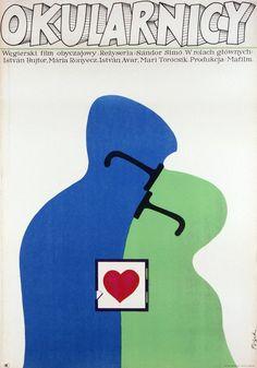 очки Jerzy Flisak, Those Who Wear Glasses, 1970 Food Graphic Design, Graphic Design Brochure, Vintage Graphic Design, Graphic Design Posters, Graphic Design Illustration, Graphic Design Inspiration, Typography Prints, Typography Poster, Polish Posters