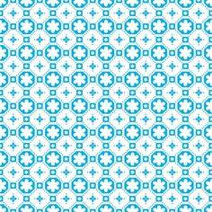 De+bekende+vinylvloer,+nu+in+wit+met+blauw/turquoise.+Perfect+voor+de+kinderkamer,+gang+of+badkamer!+Price+€21,95