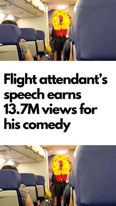 Traveling can cause stress and anxiety for a lot of people. But as they say, laughter is the best medicine – and some flight attendants are giving their passengers a good dose of it! Funny Pins, Funny Memes, Hilarious, Jokes, Flight Attendant Humor, Laughing Therapy, Comedy Show, Weird World, Out Loud