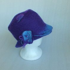 Felt Hat New Zealand wool ladies hat Felted hat ♡ by FeltSoapGood, $69.00