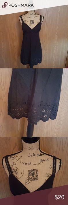 Medium black Roxy dress. Like New. Medium black Roxy dress. Like New. 100% cotton. Roxy Dresses