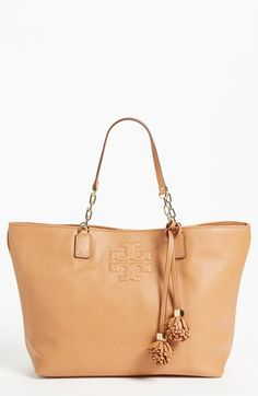 Tory Burch 'Thea - Large' Leather Tote available at #Nordstrom