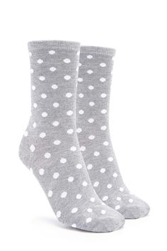 Product Name:Polka Dot Crew Socks, Category:ACC, Price:2.9