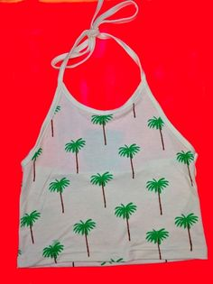 SWEET LORD O'MIGHTY! Palm Tree Halter