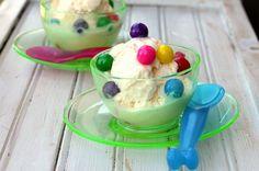 Homemade Bubblegum Ice Cream quick and easy!