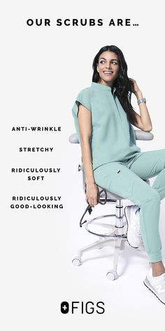 FIGS Scrubs: FIGS makes awesome medical apparel. Why wear scrubs when you can wear FIGS? Scrubs Outfit, Nursing School Notes, Medical Scrubs, Nurse Scrubs, Nurse Life, Work Attire, What To Wear, How To Look Better, Cute Outfits