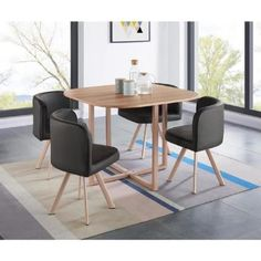 table manger avec allonge 120160 cm 4 chaises mdaillon pauline campagne pinterest salons dinning table and armchairs