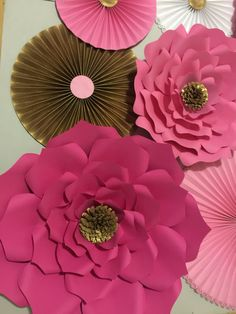 Kate Spade Large Paper Flowers-Backdrop-Wedding Arch-Photo