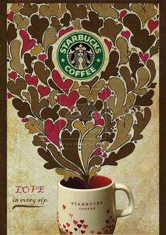 Starbucks Coffee - the best stuff on Earth besides triple chocolate ganache brownies and Pinterest