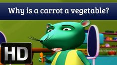 Is Carrot A  Vegetable?- General Knowledge Of Vegetables | Tell Me Why?