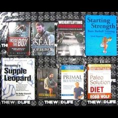 Huge range of books for coaches and athletes alike available at www.thewodlife.com.au! A mix of mobility, strength coaching, biographies, WOD Books and Nutrition! Check out our range today! #thewodlife #knowledgeispower #mobility #suppleleopard #strength #coaching #crossfit #crossfitaustralia #richfroning #paleo #primal #nutrition #startingstrength