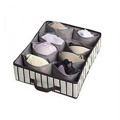 organising - underwear storage box