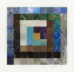 Paper Quilt Block by John Catron