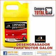 DESENGRASADOR PARA MOTOR GALON #CompraTotal - #TotalRacing