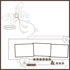 Basic Scrapbook Sketch : 4.9.12  Posted on April 9, 2012 by Melanie Bauer
