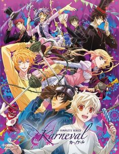 FUNimation Reveals 'Karneval' Anime Dub Cast & First Trailer