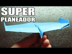 Como hacer un SUPER PLANEADOR con TURBOS | Aviones de papel paso a paso (Muy fácil) - YouTube