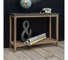 If you're after a classically designed, yet simple and modern piece of furniture, then the Brooklyn Console Table would be ideally suited to you. The fashionable European oak base/frame works beautifully with the use of modern concrete resin tops to give you a distinctive piece of furniture.