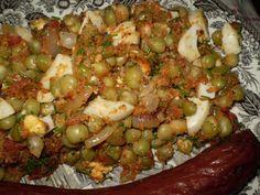 Czech Recipes, Ethnic Recipes, Black Eyed Peas, Baked Potato, Quinoa, Grains, Recipies, Rice, Potatoes