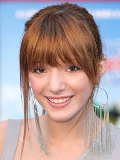 perfect bangs +++Visit http://www.makeupbymisscee.com/ For tips and how to's on #hair #beauty and #makeup