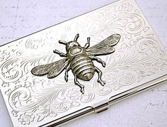 Bee Business Card Holder