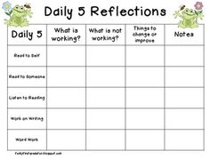 Funky First Grade Fun: Chapter 7 - Daily 5 Book Study