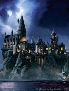 Harry Potter Poster, Harry Potter Hogwarts, Harry Potter Painting, Ravenclaw, Rowling Harry Potter, Lila Pause, Estilo Harry Potter, Haunted Hotel, Loch Ness Monster