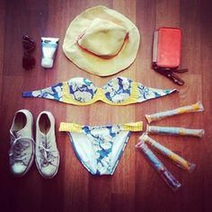 Summer essentials repost from @Rochelle_Fox featuring #rusty bikinis from #theiconic!
