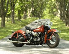 Classic Motorcycle Photograph - Harley Davidson Knucklehead. $30.00, via Etsy.