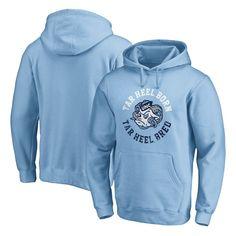 North Carolina Tar Heels Fanatics Branded Hometown Collection Pullover Hoodie – Carolina Blue
