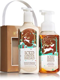 Iced Gingerbread Happy Hands Gift Set - Signature Collection - Bath & Body Works