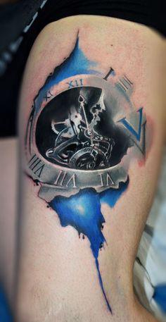 #tattoo #clock #tattooclock