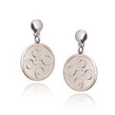 Kolczyki srebrne pozłacane Biżuteria włoska Drop Earrings, Jewelry, Jewlery, Jewerly, Schmuck, Drop Earring, Jewels, Jewelery, Fine Jewelry