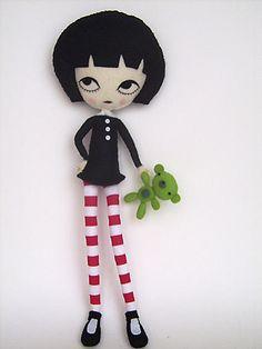 JamFancy doll with acid bear